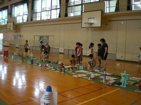 夏休み作品展.JPG