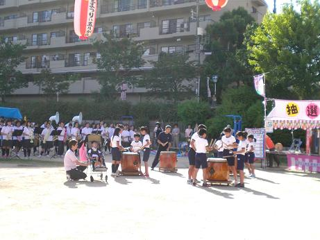 8月五月丘夏祭り太鼓1.JPG