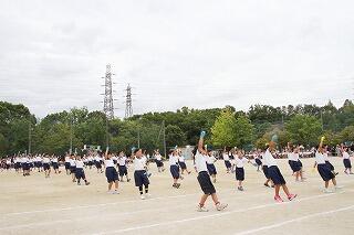9月28日1年団演.jpg